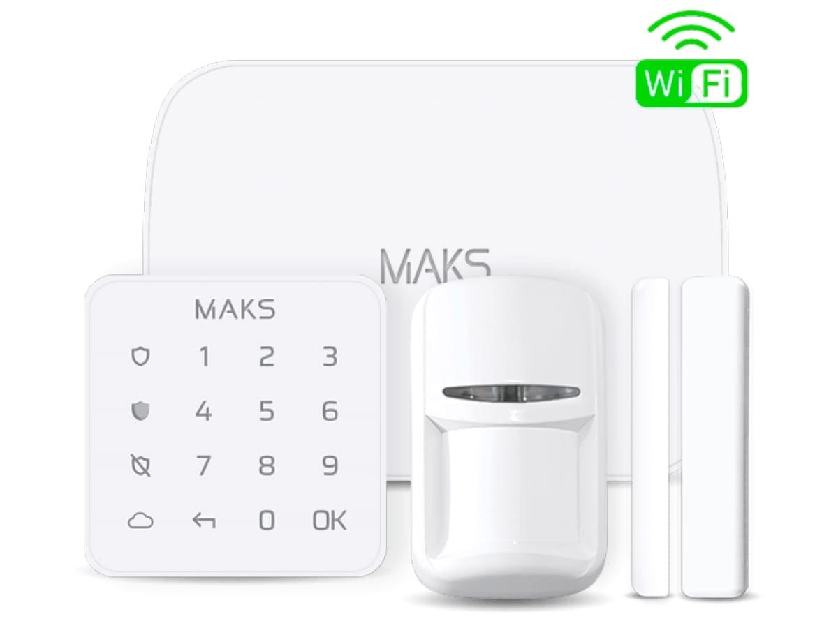 MAKS PRO WiFi комплект беспроводной сигнализации с Wi-fi (белый)