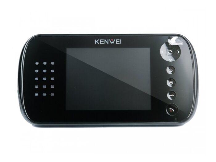 """E562FC-W80 монитор домофона 5"""" с памятью на 80 кадров (черный)"""