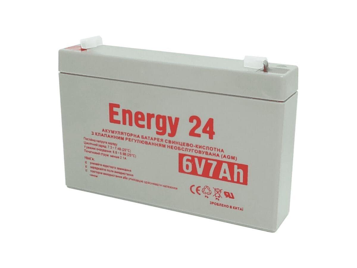 Аккумулятор свинцово-кислотный 6V7AH