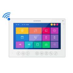 """SM-7FHD-AW монитор домофона 7"""" Full HD с Wi-Fi (белый)"""
