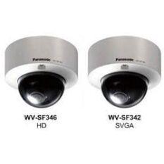 Новые купольные IP камеры в вандалозащищенном корпусе WV-SF364 и WV-SF342