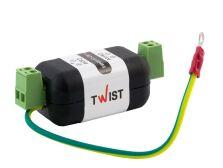 LGC+RS485 устройство защиты порта RS-485 и видеосигнала от наведенных импульсных напряжений (грозозащита)
