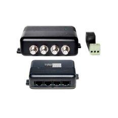 PwA-4-100 4-канальный усилитель для передачи видео по витой паре (комплект)