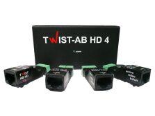 AB-HD-4 4-канальный усилитель для передачи видео по витой паре (комплект)