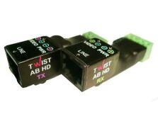 AB-HD 1-канальный усилитель для передачи видео по витой паре (комплект)